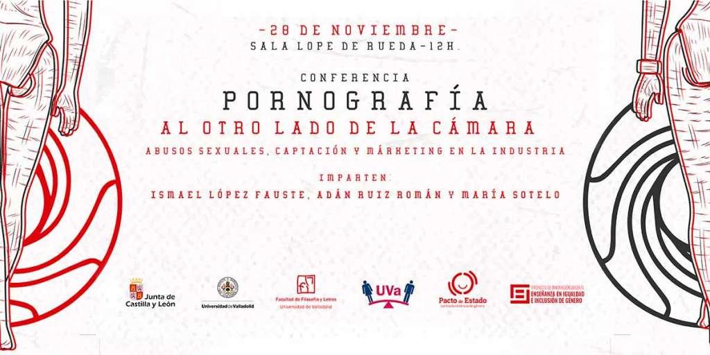 pornografía al otro lado de la cámara ponencia Universidad de Valladolid