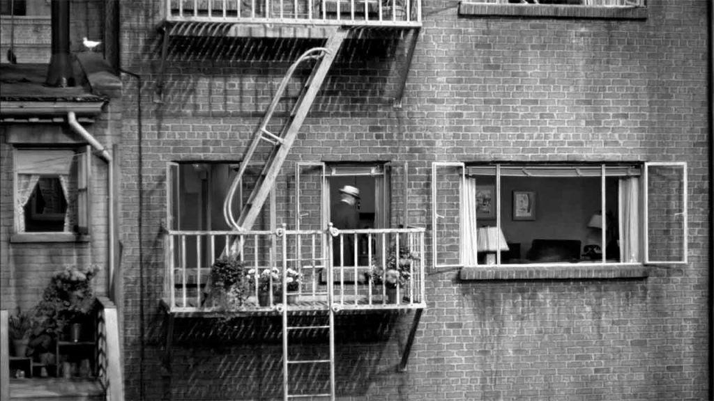 la ventana indiscreta (Rear Window) de Alfred Hitchcock